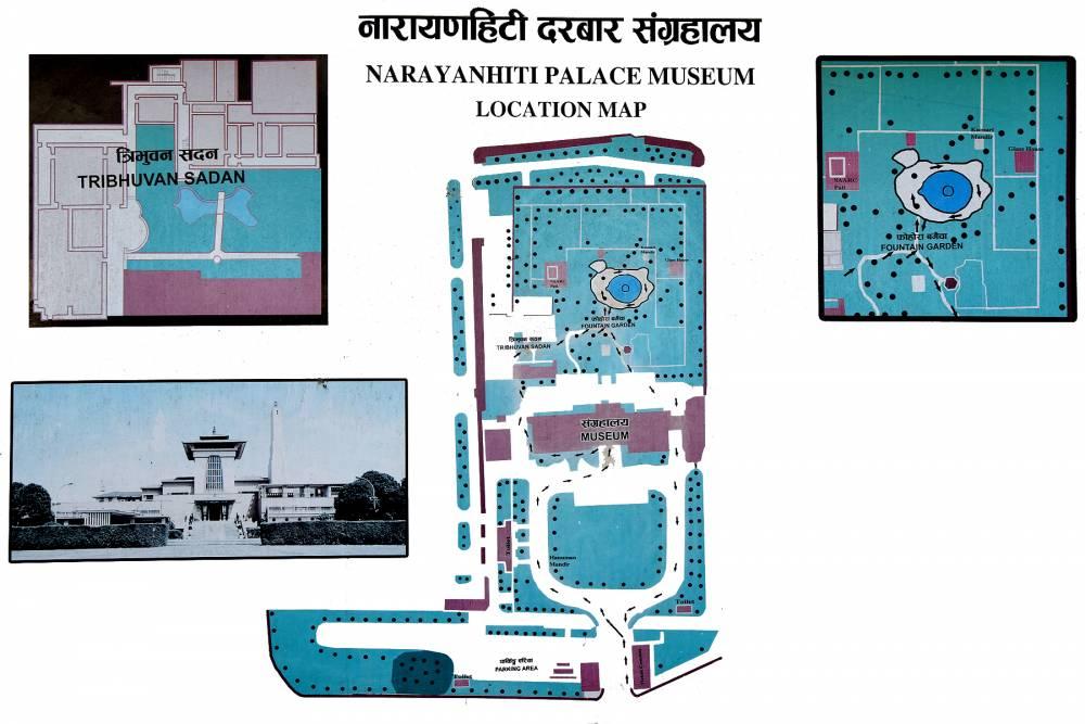 Location Map of Narayanhiti