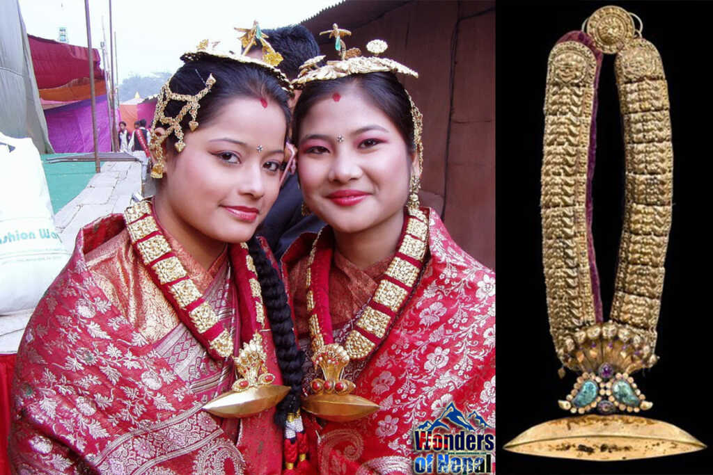 Traditional Newa Jewelry, Tayo