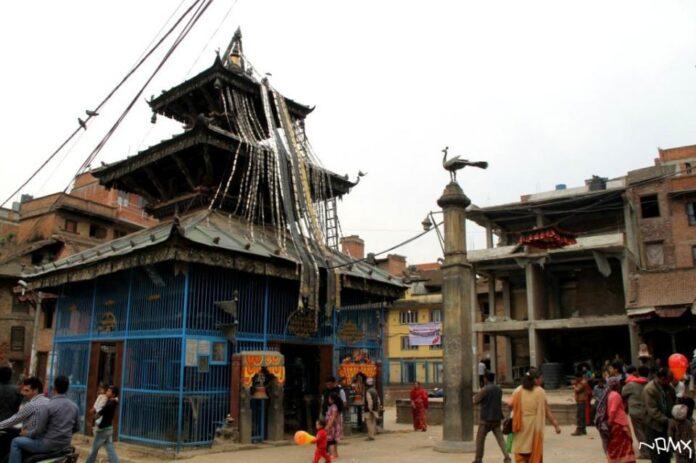 Reconstruction of Balkumari Temple